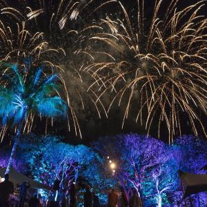 Anahita fireworks for IBL group